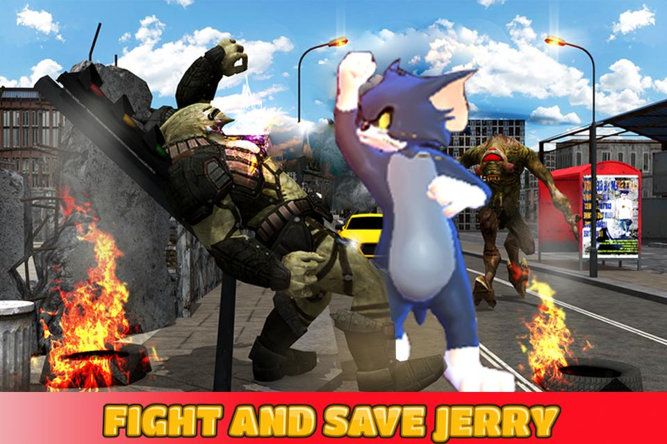 Tom and Spike Beatem Fight 3D - petarung jalanan for Android