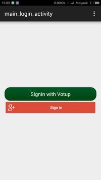 Votup apk screenshot