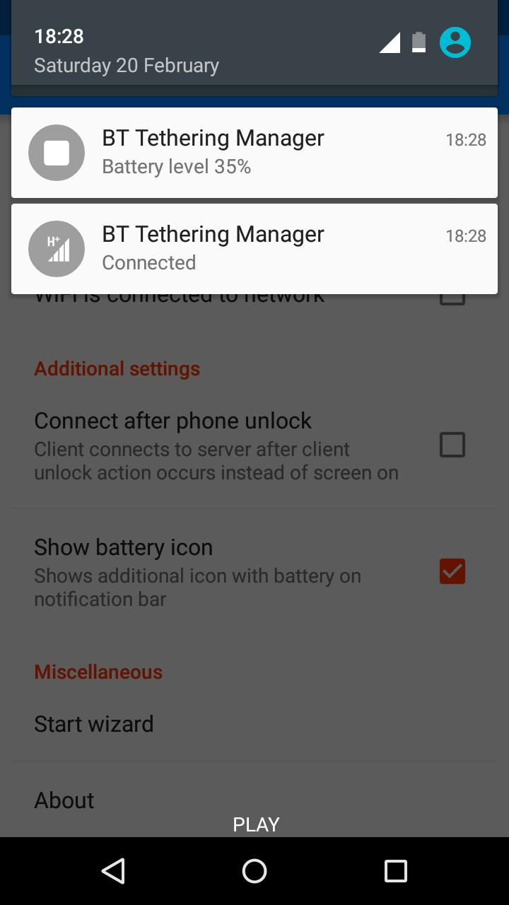Bluetooth Tethering Manager for Android - APK Download