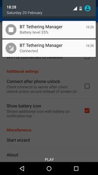 Bluetooth Tethering Manager screenshot 4