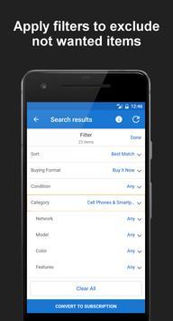 Deals Tracker for eBay screenshot 2