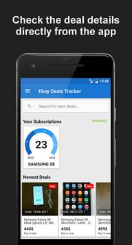 Deals Tracker for eBay apk screenshot