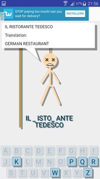 Hangman Multilingual - Learn new languages apk screenshot