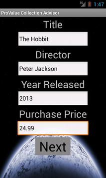 ProValue Collection Advisor screenshot 1