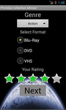 ProValue Collection Advisor screenshot 2