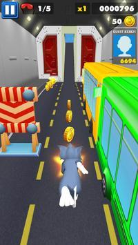 Subway Tom Adventure Jump Jerry City Runner apk screenshot
