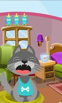 Talking small cat screenshot 3