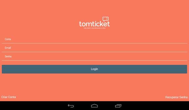 TomTicket: Help Desk apk screenshot