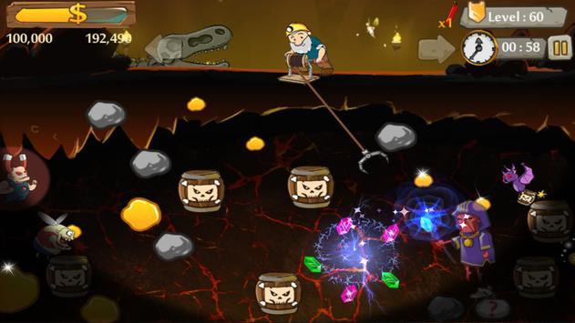 Century Gold Miner - Gold Digger Classic Games apk screenshot