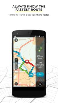 TomTom GPS Navigation Traffic poster