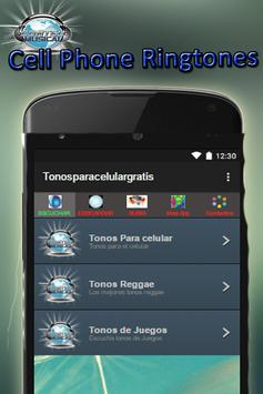 Free ring tones apk screenshot