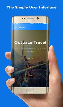 Outpace Travel poster