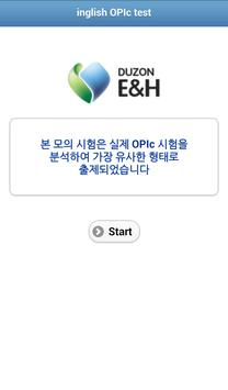 inglish OPIc Test apk screenshot