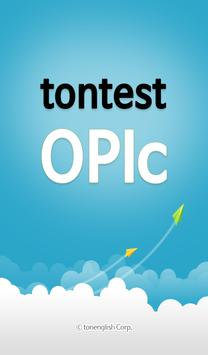 tontest OPIc poster