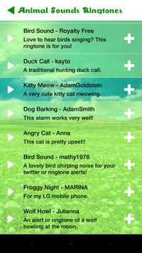 Animal Sounds Ringtones Free apk screenshot