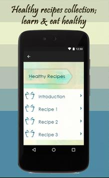 Healthy Recipes screenshot 1