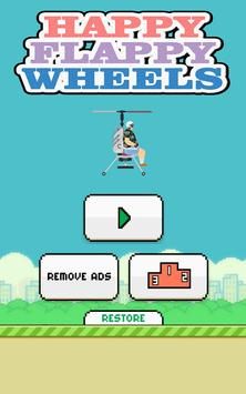 Happy Flappy Wheels poster