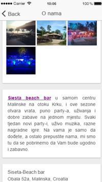 Siesta beach bar screenshot 1