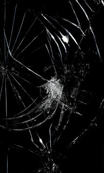 Cracked Screen Prank poster