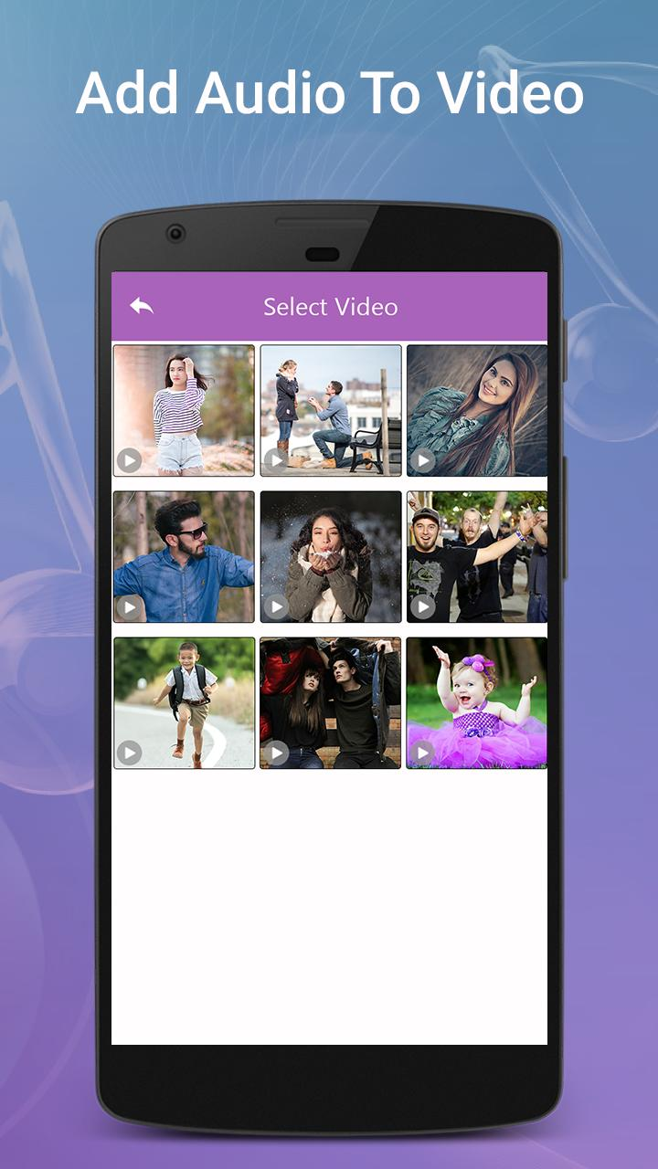 Add Any Song To Video - Video Background Music for Android - APK