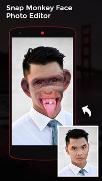 Snap Monkey Face Photo Editor poster