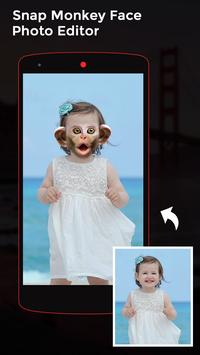 Snap Monkey Face Photo Editor screenshot 2