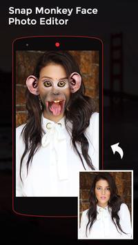 Snap Monkey Face Photo Editor screenshot 3