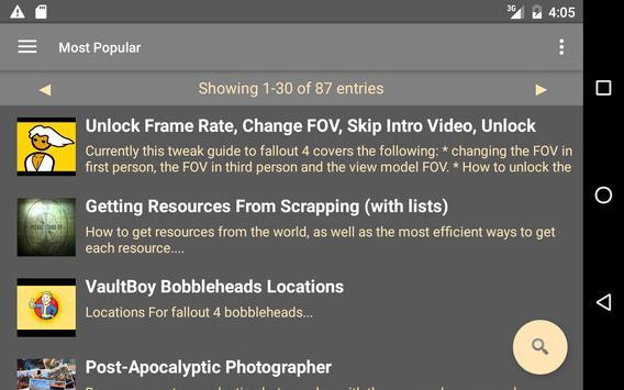 Guides: Fallout 4 screenshot 4