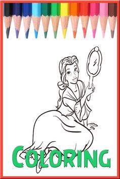 Coloring Princess poster