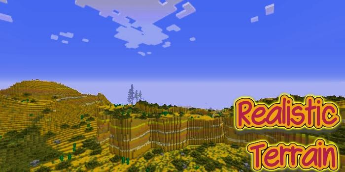 Realistic Terrain Generation Mod for Android - APK Download