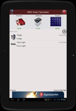 4WD Solar Calculator apk screenshot