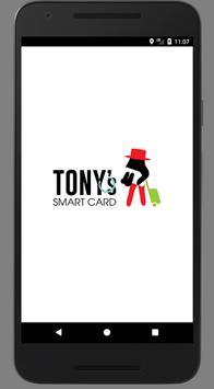 Tony's Smart Card poster