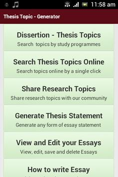 writing thesis apk education app for android  writing thesis poster