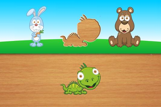 Cute puzzles - game for kids + apk screenshot
