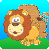 Cute puzzles - game for kids icon