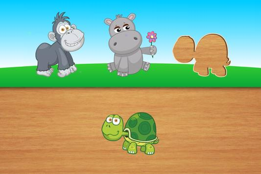 Cute puzzles - game for kids poster