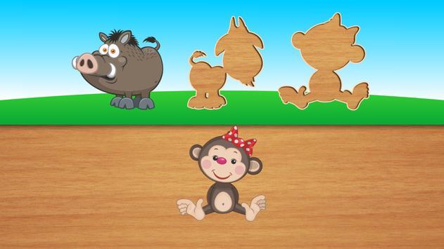 Cute puzzles - game for kids apk screenshot