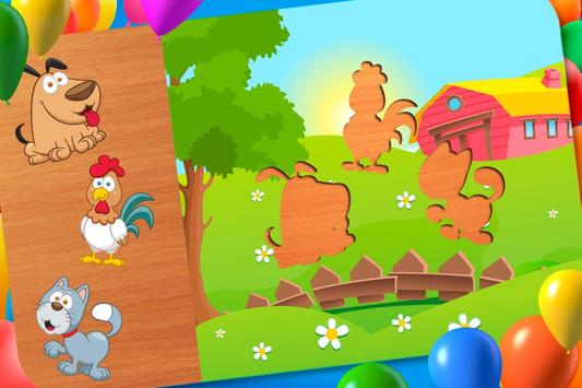 Animal Puzzle - Smart Baby poster