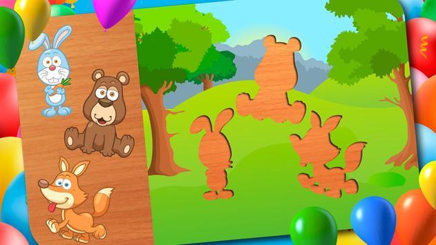 Animal Puzzle - Smart Baby screenshot 16