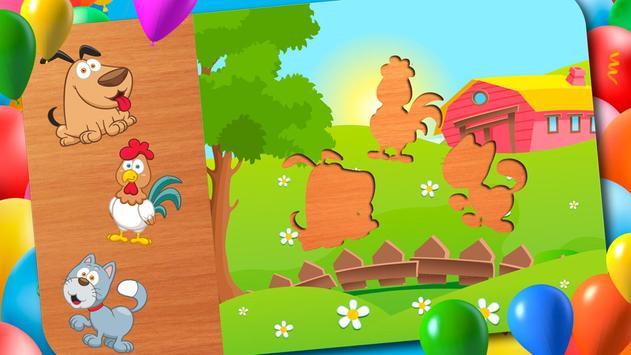 Animal Puzzle - Smart Baby screenshot 12