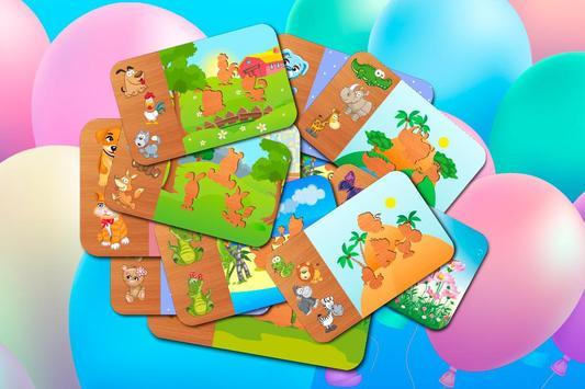 Animal Puzzle - Smart Baby screenshot 1