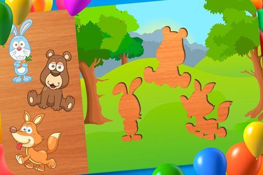 Animal Puzzle - Smart Baby screenshot 4