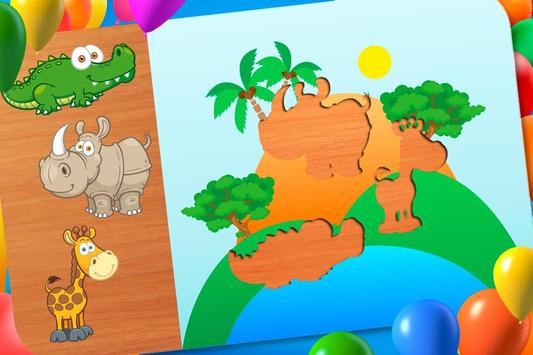 Animal Puzzle - Smart Baby screenshot 5