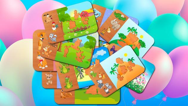 Animal Puzzle - Smart Baby screenshot 7