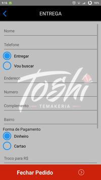 Toshi Temakeria - Florianópolis-SC screenshot 3