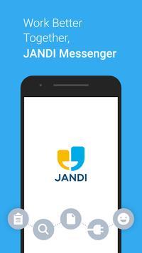 JANDI - Collaboration at Work poster