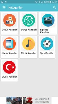 Mobile TV Turkey screenshot 1