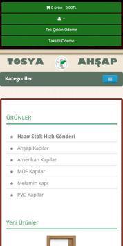 Tosya Ahşap E-ticaret poster