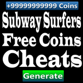Cheats Subway Surfers Coins icon