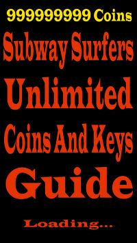 Cheats Subway Surfers Coins poster